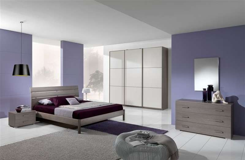 Camere matrimoniali eurostok - Pittura camera da letto lilla ...